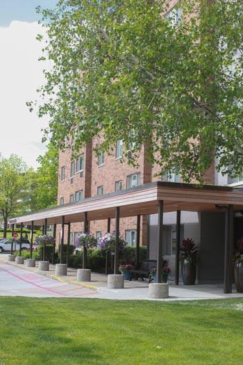 Abbott's Manor Apartment Building